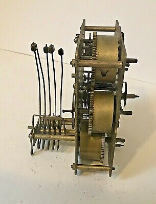Untested Westminster Chimes Mantel Clock Movement