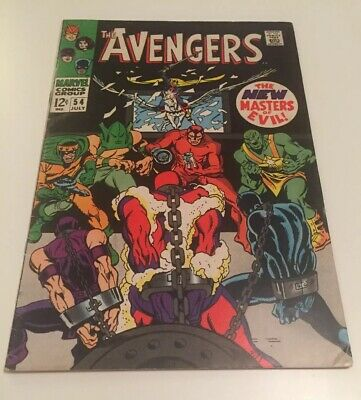 The Avengers#54 (Ultron Appearance)Very Fine Cents Copy