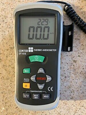 Center DT 618 Thermo Anemometer