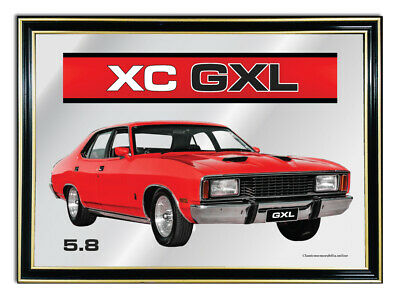 Bar Mirror A4 Suit Red Ford Fairmont Xc Gxl 5.8 Enthusiasts
