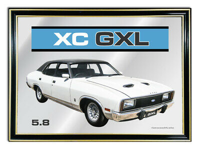 Bar Mirror A4 Suit White Ford Fairmont Xc Gxl 5.8 Enthusiasts