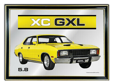 Bar Mirror A4 Suit Yellow Ford Fairmont Xc Gxl 5.8 Enthusiasts