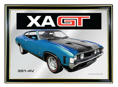 Bar Mirror A4 Suit Cosmic Blue Ford Xa Gt Coupe Enthusiasts