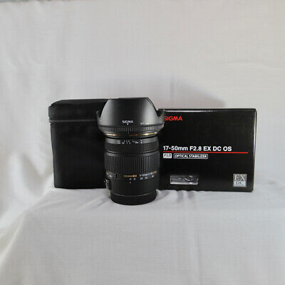 Sigma EX 17-50mm f/2.8 OS HSM DC Lens For Canon, Excellent condition!
