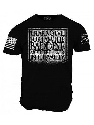 46d5db51 FEAR NO EVIL T-Shirt- Grunt Style Men's Graphic Military Tee Shirt ...