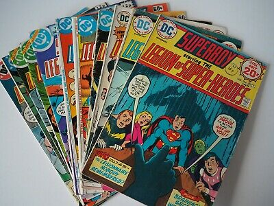 Superboy and the Legion Of SuperHeroes 1974 Bulk 12 Issues #204 #207 #221 #226 +