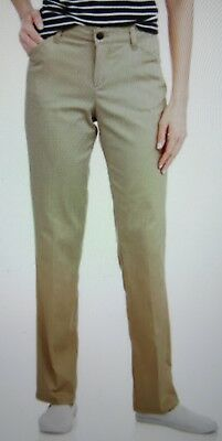 Women Sz.12 Stretch Twill Pant Dickies Relaxed Fit NWT Desert Tan Casual & Work