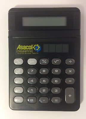 Asacol Pharma Drug Rep Calculator Promotional Physician / Nurse Giveaway - RARE