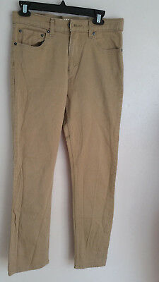 Levi Strauss Boys Young Mens Skinny Jeans Brown size 18 Reg