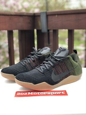 differently 2c05e 49789 Nike Kobe 11 4KB Black Horse Olive Gum Size 13. 824463-063 Jordan FTB