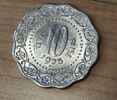 1975 India 10 Paise