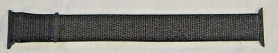 Apple Sport Loop Band for Apple Watch 40mm - Black Woven NO PACKAGING
