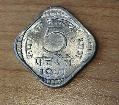 1971 India 5 Paise