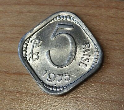 1975 India 5 Paise