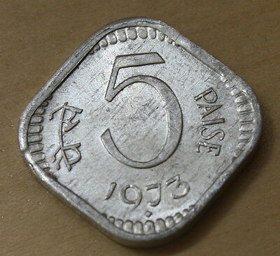 1973 India 5 Paise