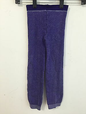 Zara Terez Leggings Cotton Blend Dark Purple Heather Girl's Size M  NWOT!!