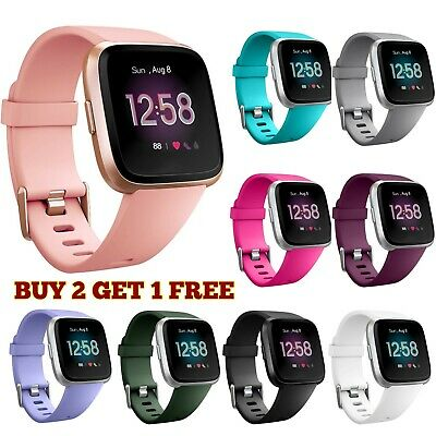 Replacement Straps For Fitbit Versa Watch Wrist Bands Accessory Wristbands UK