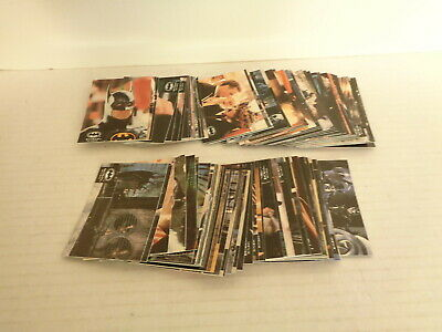 1992 Topps Batman Returns Stadium Club Complete 100 Trading Card Card Set