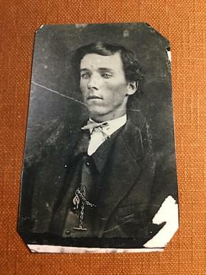 believed to be Billy The Kid famous Historical ninth-plate tintype C658NP