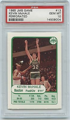 Sports Trading Cards Hall Of Fame Nice 1985-1986 Star Green Border #98 Kevin Mchale Celtics Bgs 9 Mint