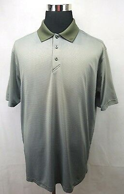 c43dfdfca Ahead Extreme Spessard Holland Course Golf Polo Green Tone Shirt Mens Size  XL