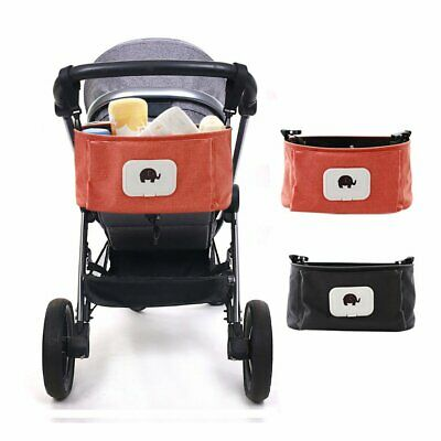 Stroller Pram Pushchair Baby Organiser Mummy Bag Storage  Cup Bottle Holder L1