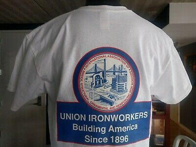 Union Ironworkers building America since 1896 structural rodbuster ornamental M