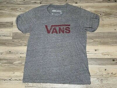 e4d89f1b44 VANS Off The Walls WOMENS GREY LOGO T SHIRT Short Sleeve Top LARGE GREAT  CLEAN