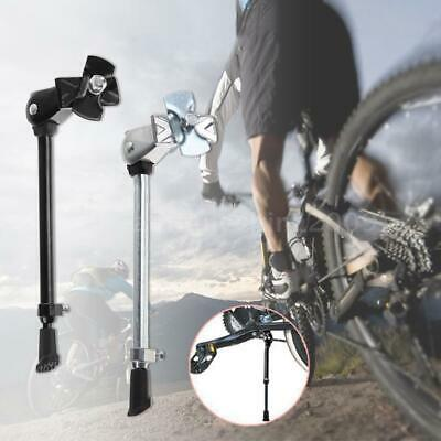 Mountain Bike Bicycle Cycle Kick Stand Adjustable Rubber Foot Heavy Duty Prop