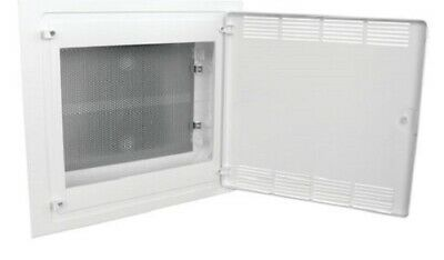 Hager GOLF NETWORK ENCLOSURE 688x460x97.5mm 54-Modules Flush Mounted, White