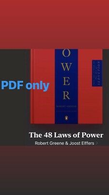 The 48 Laws of Power by Robert Greene and Joost Elffers (2005, PDF)