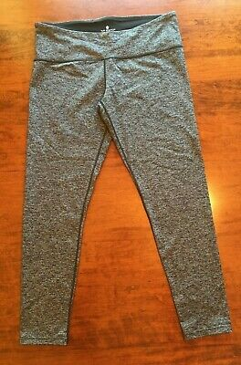 7f06d1e5d2dd5 Tuff Athletics Women's Active Yoga Leggings w/ Hidden Pocket - Gray - Size L