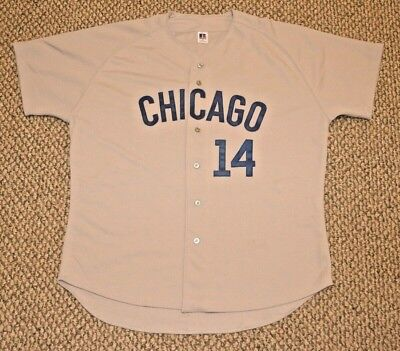 reputable site d4f5c 4f0ce AUTHENTIC RUSSELL ATHLETIC SIZE 48 XL, CHICAGO CUBS, ERNIE ...