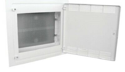 Hager FLUSH ENCLOSURE WITH VENTED DOOR 543x460x97.5mm 63A 3-Rows 54-Modules