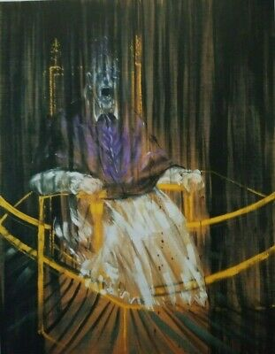 cut-out art print FRANCIS BACON 1953 portrait Pope BOURGEOIS spider mama tate UK