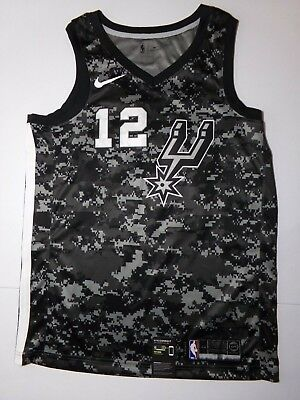 d305fb1222 NWT Nike San Antonio Spurs Lamarcus Aldridge City Edition Swingman Jersey  S/M/L
