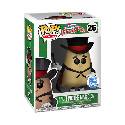 FUNKO POP AD ICONS: FRUIT PIE THE MAGICIAN NEW Hostess #26 Exclusive Shop