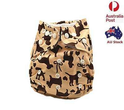 New Modern Cloth Nappy Baby MCN Diaper Waterproof-Outer-Layer Adjustable (D114)