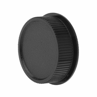 Rear Lens Cap + Body Cap Cover Screw Mount Black For Universal 39mm M39 L39