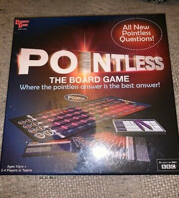 University Games Pointless board question/trivia game based on the TV quiz show