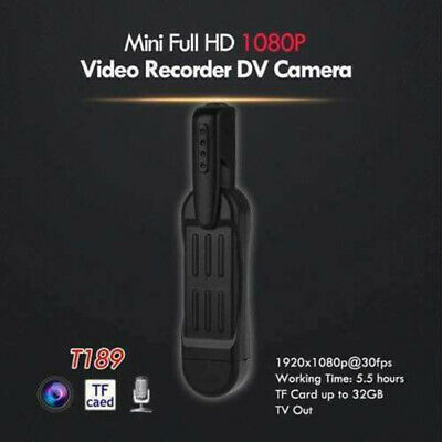 ActionCam- MINI FULL HD 1080P Day Night  Video and Audio Recorder+16GB SD Card