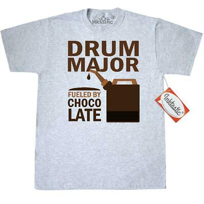 72ae67b2b8 Inktastic Drum Major Chocolate T-Shirt Marching Band Music Camp Funny Humor  Best