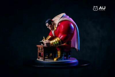 AIU Studio Marvel Avengers Shazam Led Light Lightning Resin Statue