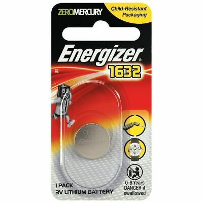 CHEAP New ENERGIZER CR1632 Lithium 3v Coin Battery Australia Stock FAST SHIPPING