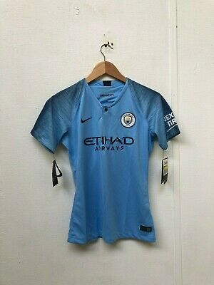 Nike Manchester City FC Women's 2018/19 Home Shirt - Small - Stones 5 - NWD