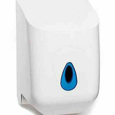 Centrefeed roll holder plastic and feature a self locking  tear-off Toilet Clean