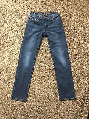 American Eagle Outfitters Slim Straight Extreme Flex Jeans SZ 28X32 Actual 29X31
