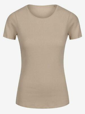 Womens Ladies EX M&S Pure Cotton Short Sleeve Crew Neck T-Shirt Size 8-22