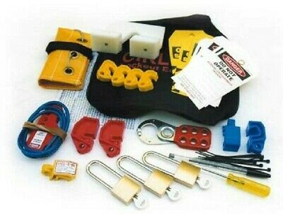 Repelec CIRLOCK CONTRACTOR LCKOUT KIT REPCIRCLK2 44-Tools Large Size *Aust Brand