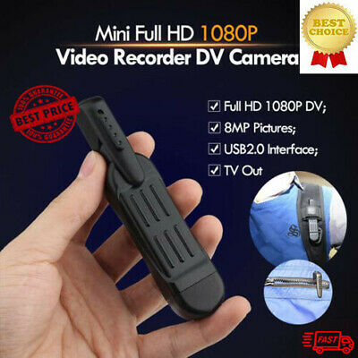 ActionCam- MINI FULL HD Video and Audio Recorder+32GB SD Card